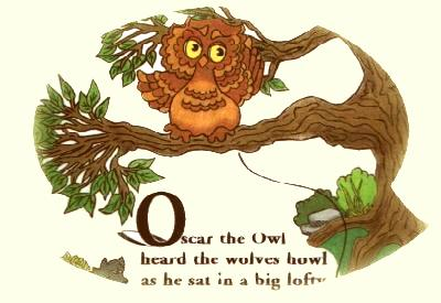 Oscar the Owl from A Forest of Poems for Children